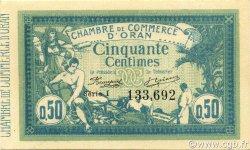 50 Centimes ORAN ALGÉRIE ORAN 1915 JP.141.04 NEUF