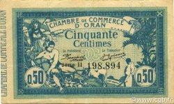 50 Centimes ORAN ALGÉRIE ORAN 1915 JP.141.04 TTB+