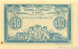 50 Centimes ORAN ALGÉRIE ORAN 1915 JP.141.04 SPL