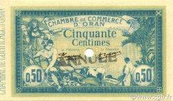 50 Centimes ALGÉRIE Oran 1915 JP.141.06 pr.NEUF