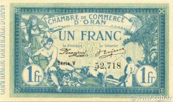1 Franc ORAN ALGÉRIE Oran 1915 JP.141.08 NEUF