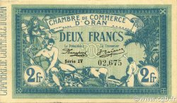 2 Francs ORAN ALGÉRIE ORAN 1915 JP.141.14 pr.SPL