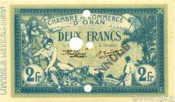 2 Francs ORAN ALGÉRIE Oran 1915 JP.141.16v NEUF