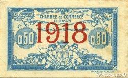 50 Centimes ORAN ALGÉRIE ORAN 1918 JP.141.19 SUP