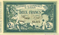 2 Francs ORAN ALGÉRIE ORAN 1918 JP.141.21 pr.NEUF