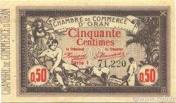 50 Centimes ORAN ALGÉRIE ORAN 1920 JP.141.22 SUP