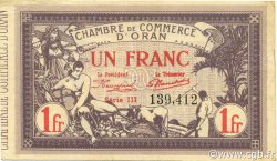 1 Franc ORAN ALGÉRIE ORAN 1920 JP.141.23 pr.SUP