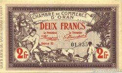 2 Francs ORAN ALGÉRIE Oran 1920 JP.141.24 SPL