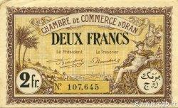 2 Francs ALGÉRIE Oran 1922 JP.141.35 SUP
