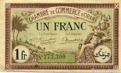 1 Franc ORAN ALGÉRIE ORAN 1923 JP.141.37 TTB+