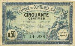 50 Centimes ORAN ALGÉRIE ORAN 1923 JP.141.38 TTB+