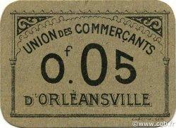 5 Centimes ORLEANSVILLE ALGÉRIE ORLEANSVILLE 1916 JPCV.10 SPL