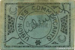 25 Centimes ORLEANSVILLE ALGÉRIE ORLEANSVILLE 1916 JPCV.12 SUP