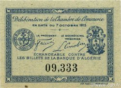 10 Centimes PHILIPPEVILLE ALGÉRIE PHILIPPEVILLE 1915 JP.13 NEUF