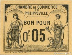5 Centimes PHILIPPEVILLE ALGÉRIE PHILIPPEVILLE 1919 JP.14 pr.NEUF