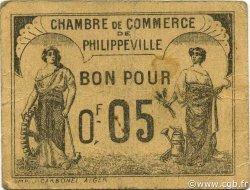5 Centimes ALGÉRIE Philippeville 1919 JP.14 pr.TTB