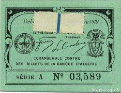 10 Centimes PHILIPPEVILLE ALGÉRIE PHILIPPEVILLE 1919 JP.15 SPL