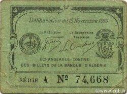 10 Centimes PHILIPPEVILLE ALGÉRIE PHILIPPEVILLE 1919 JP.015 pr.TTB
