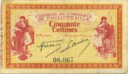 50 Centimes PHILIPPEVILLE ALGÉRIE PHILIPPEVILLE 1914 JP.142.01 TTB