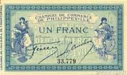 1 Franc PHILIPPEVILLE ALGÉRIE PHILIPPEVILLE 1914 JP.142.02 SUP+