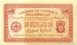 50 Centimes PHILIPPEVILLE ALGÉRIE Philippeville 1914 JP.142.03 NEUF