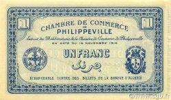 1 Franc PHILIPPEVILLE ALGÉRIE Philippeville 1914 JP.142.04 NEUF