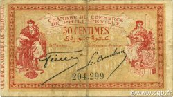 50 Centimes PHILIPPEVILLE ALGÉRIE Philippeville 1914 JP.142.05 TB+