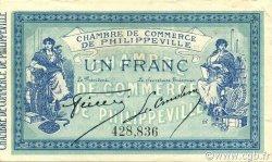 1 Franc PHILIPPEVILLE ALGÉRIE PHILIPPEVILLE 1914 JP.142.06 SPL