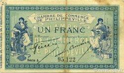 1 Franc PHILIPPEVILLE ALGÉRIE PHILIPPEVILLE 1914 JP.142.07 pr.TTB