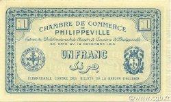 1 Franc PHILIPPEVILLE ALGÉRIE PHILIPPEVILLE 1914 JP.142.07 NEUF
