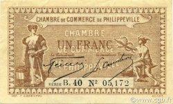 1 Franc ALGÉRIE Philippeville 1917 JP.142.09 pr.SUP