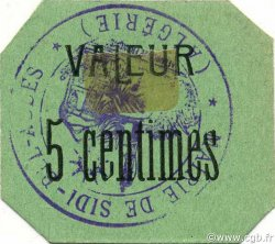 5 Centimes SIDI-BEL-ABBÈS ALGÉRIE Sidi-Bel-Abbès 1916 JPCV.04 SPL
