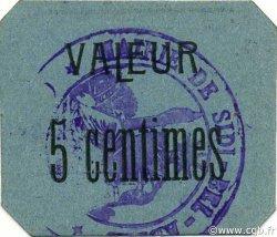 5 Centimes SIDI-BEL-ABBÈS ALGÉRIE SIDI-BEL-ABBÈS 1916 JPCV.05 SPL