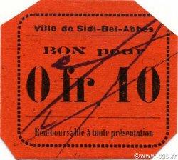 10 Centimes SIDI-BEL-ABBÈS ALGÉRIE SIDI-BEL-ABBÈS 1916 JPCV.08 pr.NEUF