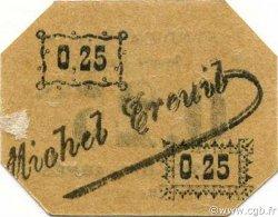 25 Centimes SIDI-BEL-ABBÈS ALGÉRIE SIDI-BEL-ABBÈS 1916 JPCV.13 SPL