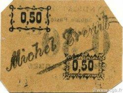 50 Centimes SIDI-BEL-ABBÈS ALGÉRIE SIDI-BEL-ABBÈS 1916 JPCV.14 SPL