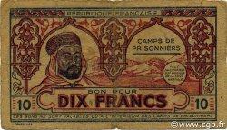 10 Francs ALGÉRIE  1943 K.394 TTB
