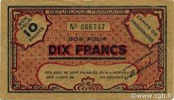 10 Francs ALGÉRIE Ténès 1943 P.-- TB