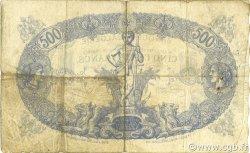 500 Francs TUNISIE  1924 P.05b TB+