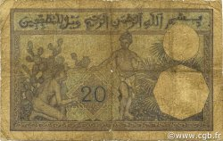 20 Francs type 1912 TUNISIE  1929 P.06b B
