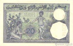 20 Francs type 1912 TUNISIE  1924 P.06s SPL+