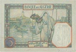 5 Francs type 1924 TUNISIE  1940 P.08c pr.NEUF