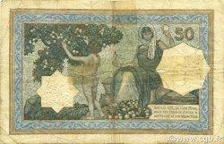 50 Francs type 1912 TUNISIE  1920 P.09 B+