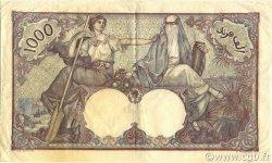 1000 Francs type 1926 TUNISIE  1938 P.11b TTB+