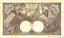 1000 Francs type 1926 TUNISIE  1939 P.11b TTB+