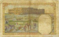 50 Francs TUNISIE  1942 P.12a B