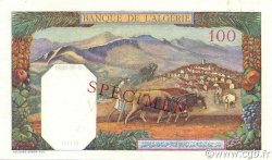 100 Francs type 1938 filigrane tête TUNISIE  1938 P.13as pr.NEUF