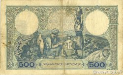 500 Francs type 1926 TUNISIE  1939 P.14 TB