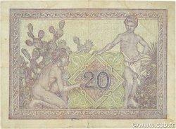 20 Francs TUNISIE  1944 P.18 TTB
