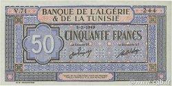 50 Francs type 1949 Khamassi TUNISIE  1949 P.23 pr.NEUF